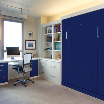 Glossy Furniture Custom Designs by Valet Custom Cabinets & Closets