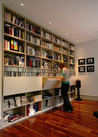 Contemporary Home Office by naganjohnson architects