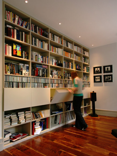 floor to ceiling shelving houzz. Black Bedroom Furniture Sets. Home Design Ideas