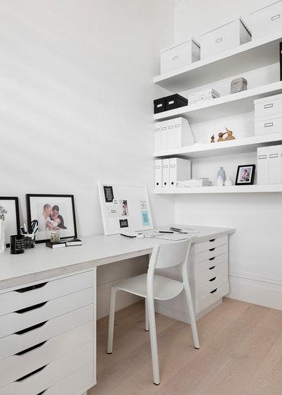 scandinavian home office by fido projects