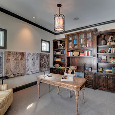 Traditional Home Office by Spacecrafting / Architectural Photography