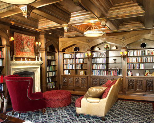Best Gothic Home Office Design Ideas  Remodel Pictures  Houzz