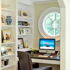 traditional home office by Jan Gleysteen Architects, Inc