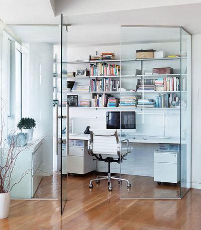 Contemporain Bureau à domicile by Axis Mundi | New York