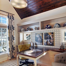 Eclectic Home Office by Great Neighborhood Homes
