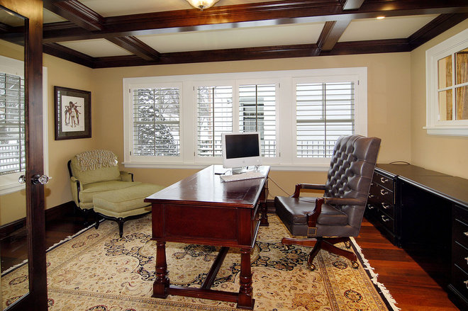 Traditional Home Office by Great Neighborhood Homes