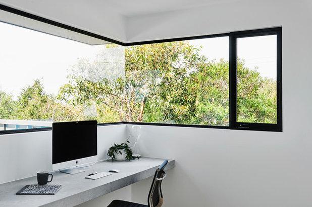 Modern Home Office by Dylan Barber Building Design