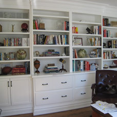 Eclectic Home Office by Kohl Building Products