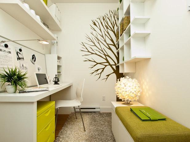 Contemporain Bureau à domicile by Calvert Design Studio