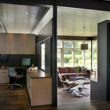 Contemporary Home Office by LDa Architecture & Interiors