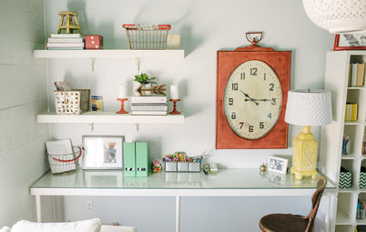 Room of the Day: A Home Office Gets Organized in Style