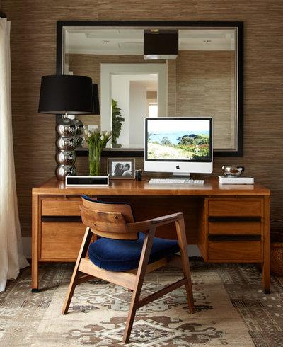 コンテンポラリー ホームオフィス・仕事部屋 by Urrutia Design