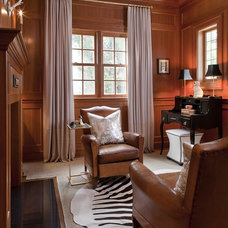 Traditional Home Office by Tiffany Eastman Interiors, LLC