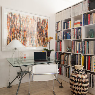Contemporary Home Office Design Ideas & Remodeling Pictures | Houzz