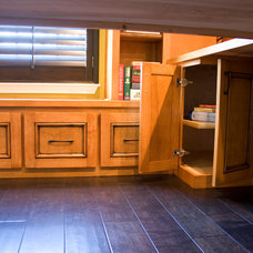 Craftsman Home Office by Madison Custom Cabinets