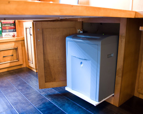 Cabinet For Shredder | Houzz