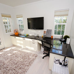 contemporary home office by Stonebrook Design Build
