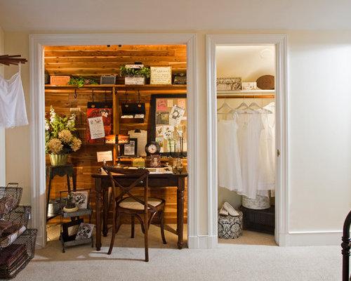 bureau romantique avec un sol en moquette photos et id es d co de bureaux. Black Bedroom Furniture Sets. Home Design Ideas