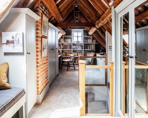 75 most popular country home office and library design ideas for