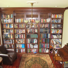Traditional Home Office by Guinn Construction LLC