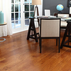 Traditional Home Office by BR111 Hardwood Flooring