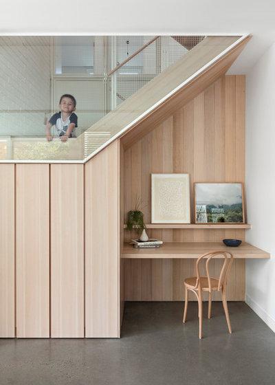 北欧 ホームオフィス・書斎 by Breathe Architecture
