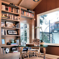Traditional Home Office by Culligan Abraham Architecture