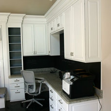Traditional Home Office by Cornerstone Interiors