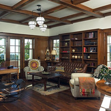 Traditional Home Office by Lewin Wertheimer