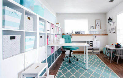 Room of the Day: Stylish Craft Room Makeover Creates a New Order