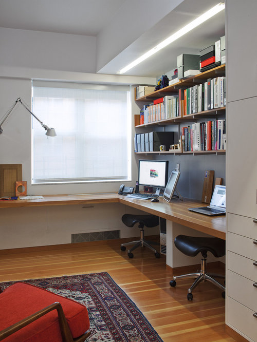 Wrap Around Desk Home Design Ideas Pictures Remodel And
