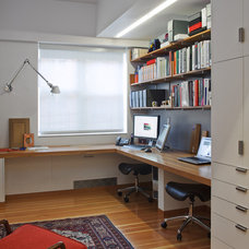 Contemporary Home Office by Mabbott Seidel Architecture