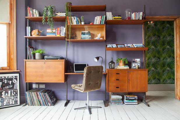 Éclectique Bureau à domicile by Emilie Fournet Interiors