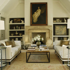 Eclectic Home Office by A HARRIS HOUSE DESIGN