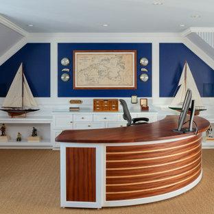 Idéer för ett maritimt arbetsrum