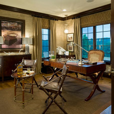 Traditional Home Office by Guidi Homes