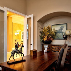 Traditional Home Office by CCB Designs