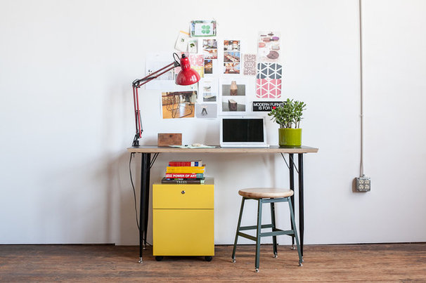 Eclectic Home Office by Heartwork INC