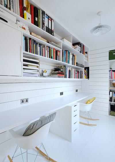 Scandinave Bureau à domicile by Brown + Brown Architects