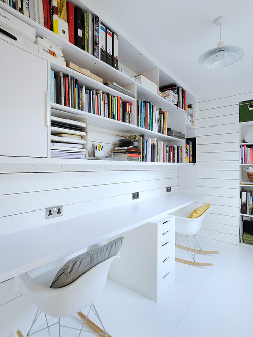 Best Scandinavian Home Office Design Ideas & Remodel Pictures | Houzz