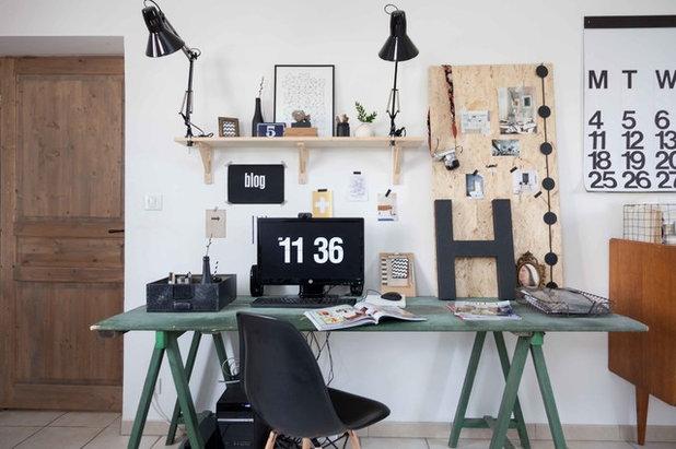Industriel Bureau à domicile by Marcus Harvey Photography London