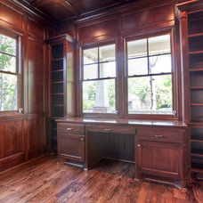 Craftsman Home Office by Brickmoon Design