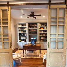 Traditional Home Office by Ridgewater Homes Inc