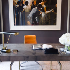 Contemporary Home Office by Alex Amend Photography
