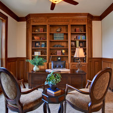 Traditional Home Office by Celebrity Communities