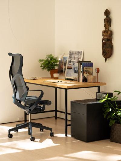 コンテンポラリー ホームオフィス・書斎 by EQ3 Furniture & Home Goods