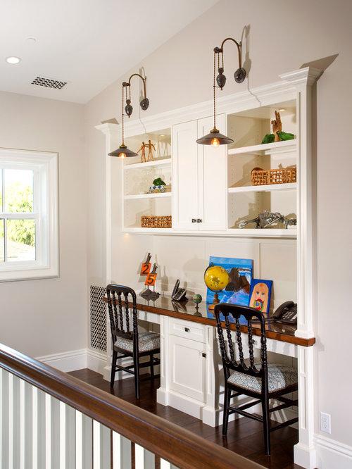 50K Built In Desk Home Design Design Ideas & Remodel Pictures | Houzz