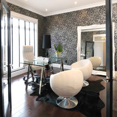 contemporary home office by Atmosphere Interior Design Inc.