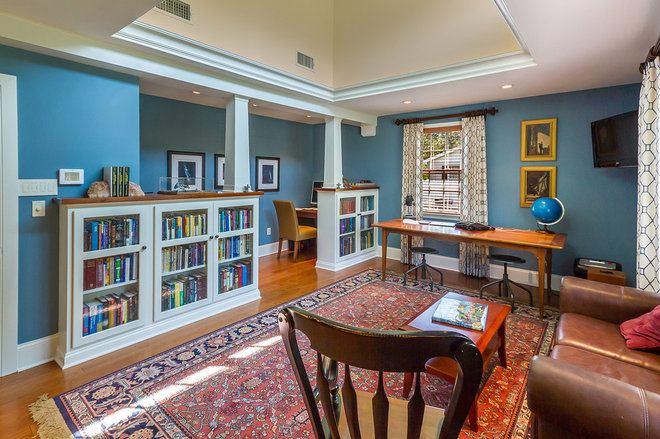 Traditional Home Office by Canton Custom Homes
