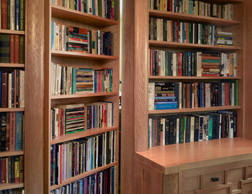 Hidden Library/Bookcase Door Open